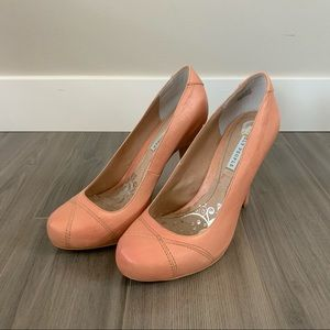 Lovely People Ingrid Pale Pink Heels, Size 7